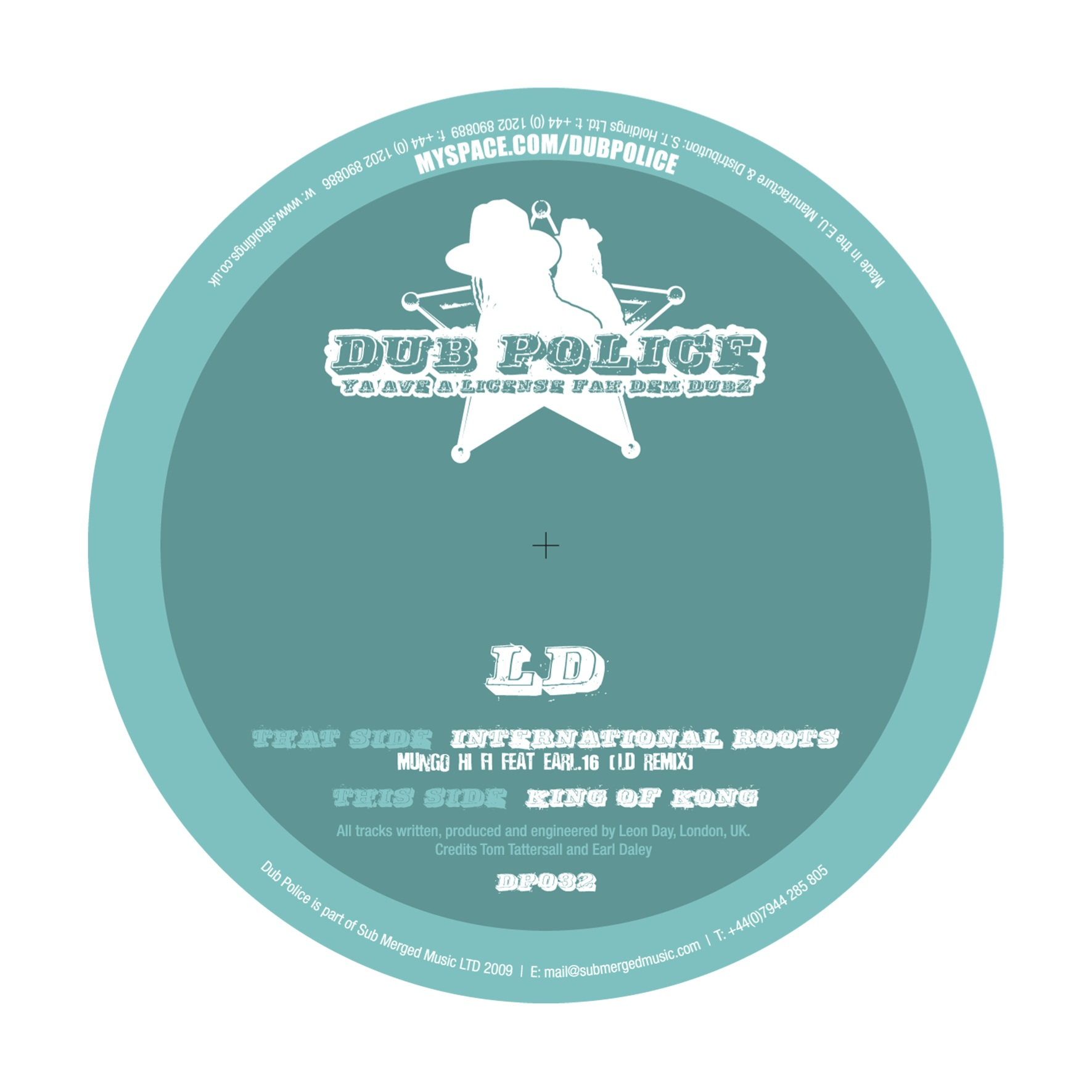 DP032: INTERNATIONAL ROOTS (LD REMIX) / THE KING OF KONG