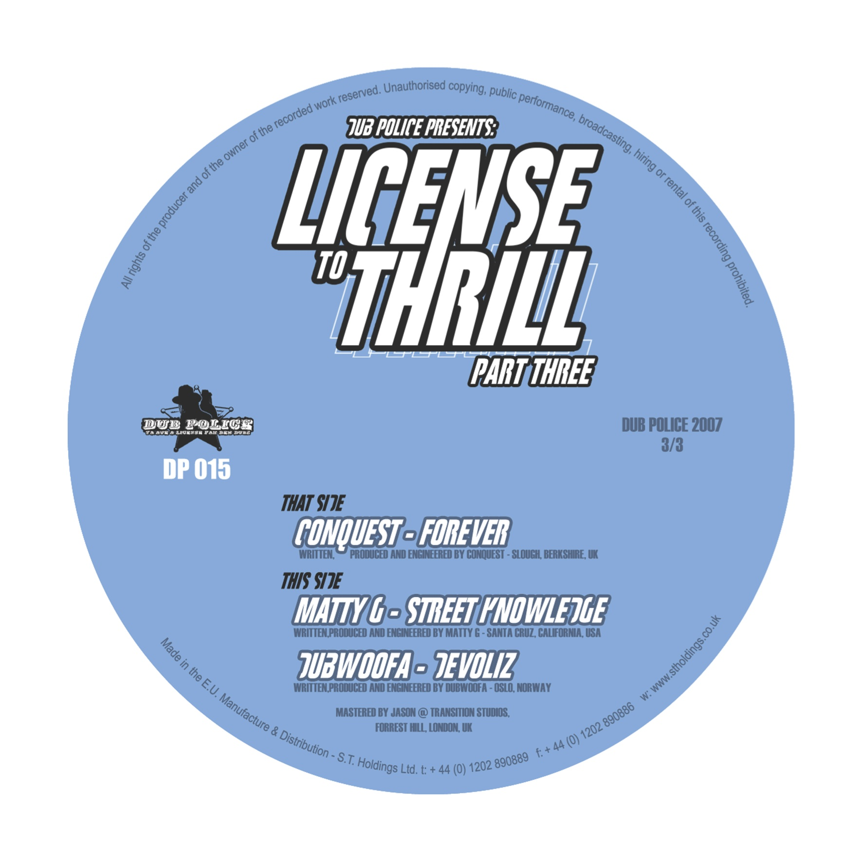 DP015: LICENSE TO THRILL PT. 3