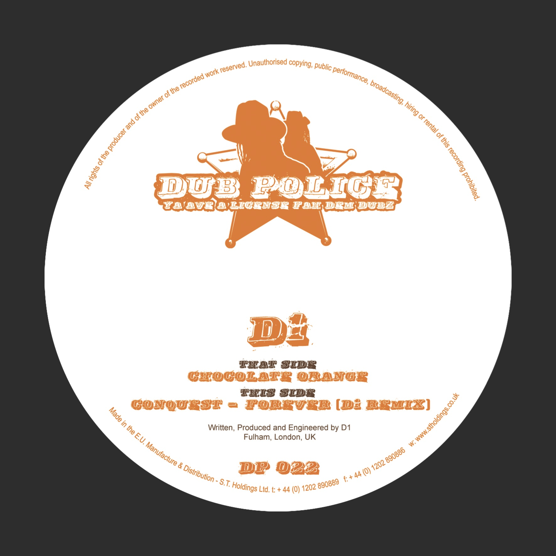 DP022: CHOCOLATE ORANGE / FOREVER