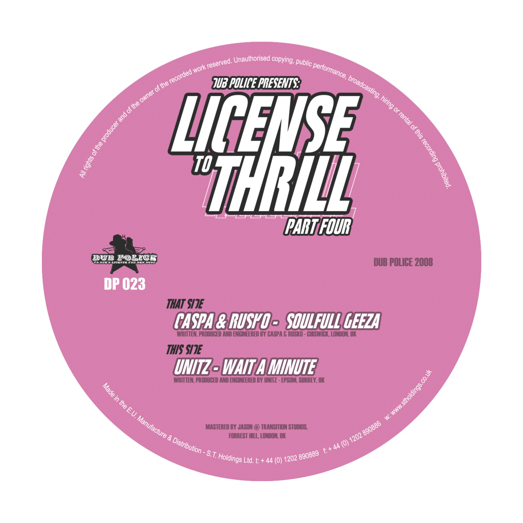 DP023: LICENSE TO THRILL PT.4